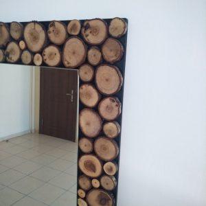 Ağaç Dilimli, Doğal Boy Aynası