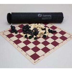 Turnuva Ağırlıklı Satranç Takımı Şah 85mm