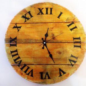Ahşap Özel Tasarım Duvar Saati