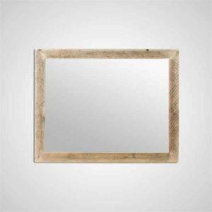 Masif Ahşap Ayna Beau