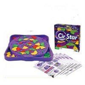 Çocuklar İçin Eğitici CirStar Geometrik Algı Oyunu