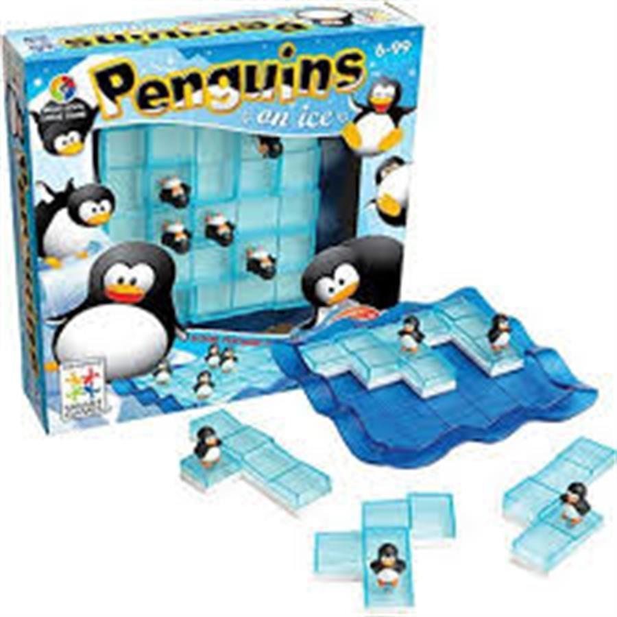 Çocuklar İçin Eğitici Penguins On Ice Oyunu