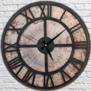 Metal Dünya Saati