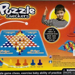 Çocuklar İçin Eğitici Oyuncak Skippty Çin Daması