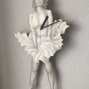 Marilyn Monroe Sallanan Duvar Saati