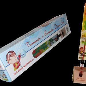 Çocuklar İçin Eğitici Termometre Yapalım Deney Set