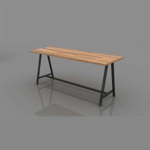 Kahve Çalışma Masası 180 cm
