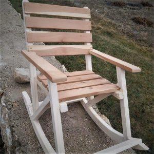 ahşap Sallanan Sandalye (çocuk)