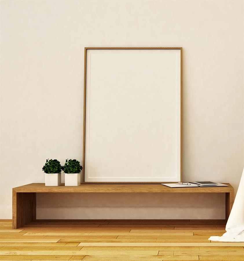 Minimalist Doğal Ahşap Tv Sehpası 150cm