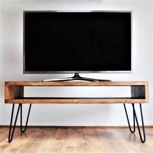 Masif Ahşap TV Sehpası 150cm