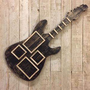 Masif Ahşap Çerçeve Guitar