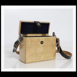 1d7b30833cbbe Wood Box Bag - Çanta Modelleri - Ahşap Çanta
