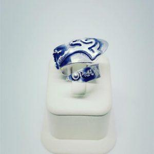 El yapımı gümüş yüzük