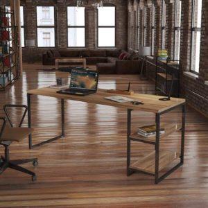 Kızılcık Çalışma Masası 180 cm
