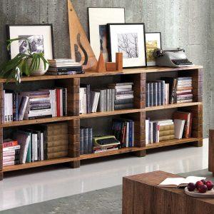 Lucky Wood Store Gabriella Kitaplık Raf