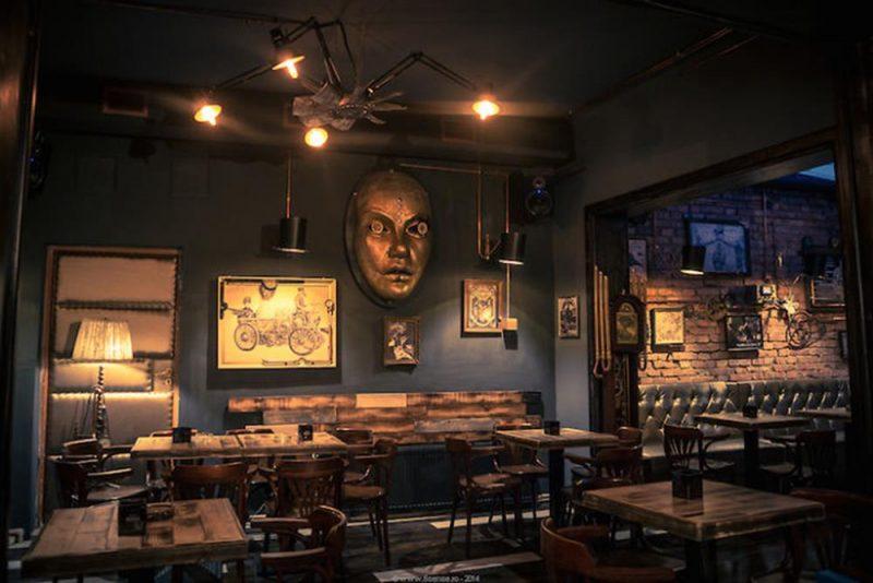Kafe ve Restaurant için İç Mekan Dekorasyonu