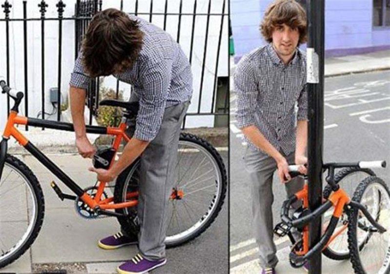 Katlanabilir Elastik Bisiklet Tasarımı