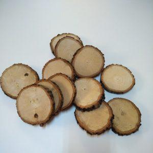 Doğal Odun, Kütük Dilimleri - 100 adet