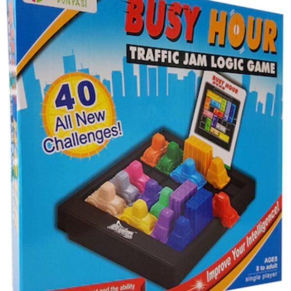 Çocuklar İçin Eğitici Busy Hour Trafik Oyunu