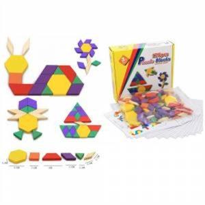 Çocuklar İçin Eğitici 125 Parça Tangram
